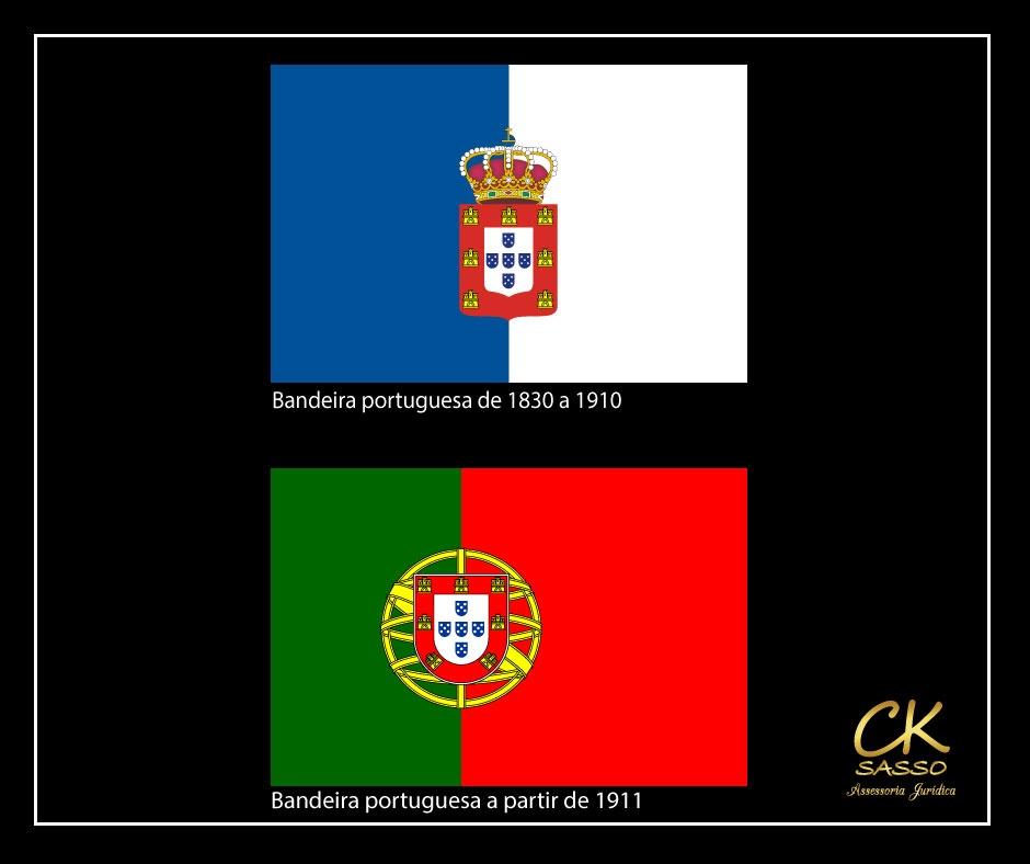 bandeira portuguesa 1830 e 1911