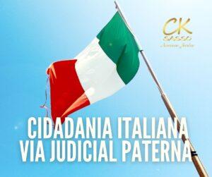CIDADANIA ITALIANA VIA PATERNA