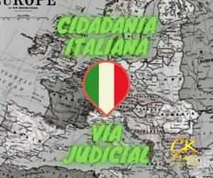 Cidadania italiana via judicial