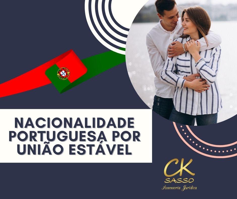 nacionalidade portuguesa por união estável